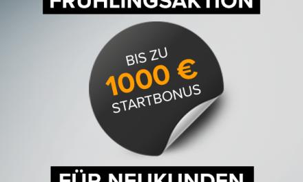 Solidvest Frühlingsaktion: Bis zu 1.000 EUR Bonus sichern!